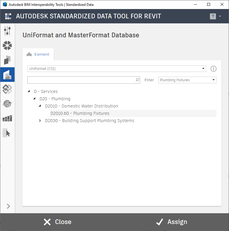 Autodesk ClassificationManager for Revit