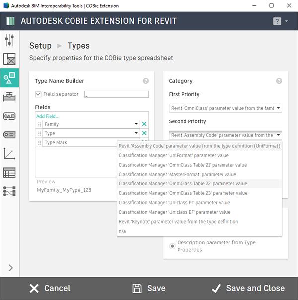 Autodesk ClassificationManager for Revit