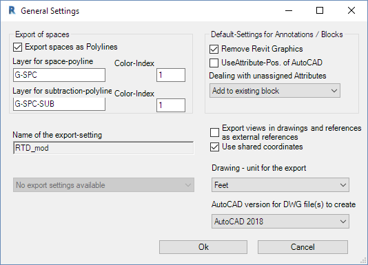 Autodesk Enhanced DWG Exporter for Revit